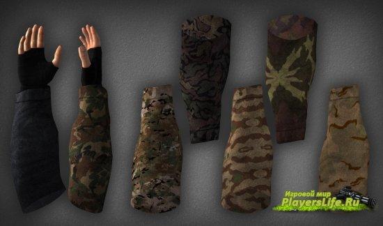 Красивые перчатки для Counter-Strike: Source
