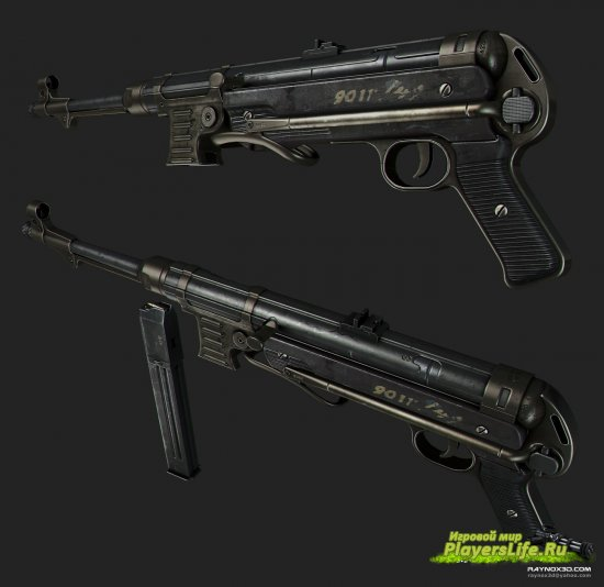 ��������-������ MP 40 ��� Counter-Strike: Source
