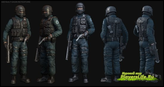 ������������ ����������� GIGN ��� Counter-Strike: Source
