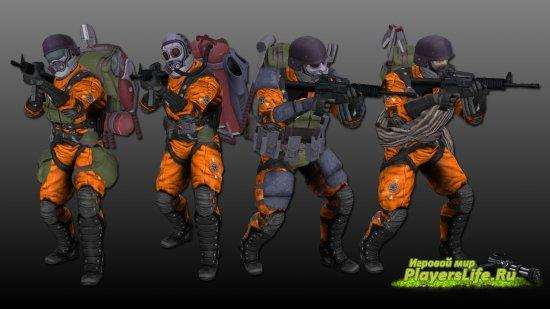 Пак персонажей из Bionic Commando для CS: Source