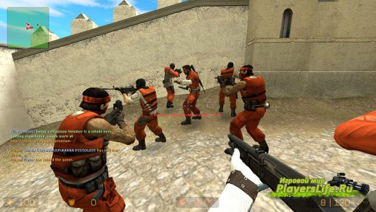 Террористы из Aperture Science для Counter-Strike: Source