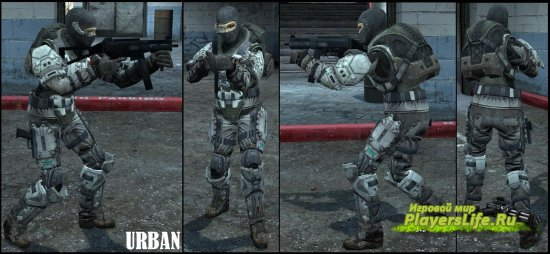 Девушки из Halo Reach для Counter-Strike: Source