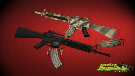 ������ ������ Hyper's M16 ��� Counter-Strike: Source