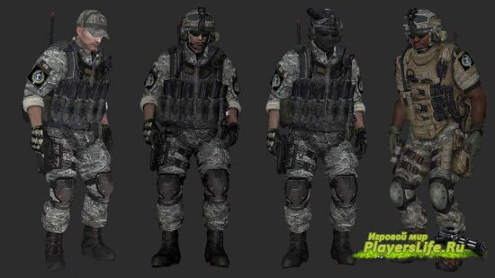 Пак моделей Battle Territory для Counter-Terrorists (CS:S)