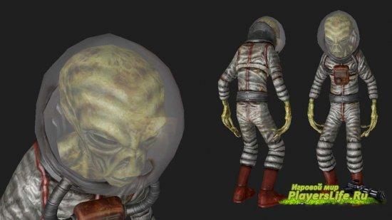 Модель чужого для Counter-Strike: Source