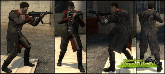 Модель Данте из Devil May Cry для Counter-Strike: Source