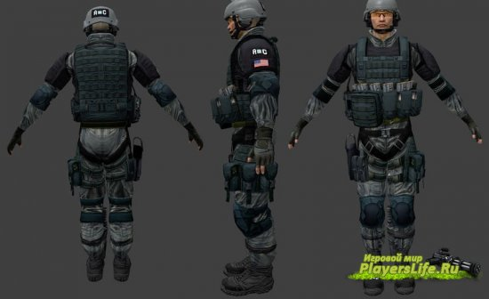 Модель Ding Chavez из Rainbow Six для Counter-Strike: Source