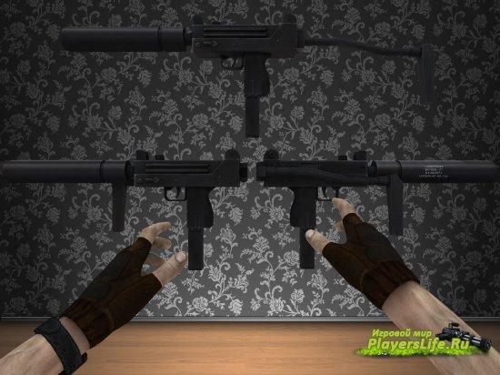 Новый MAC с мощной анимацией для Counter-Strike: Source
