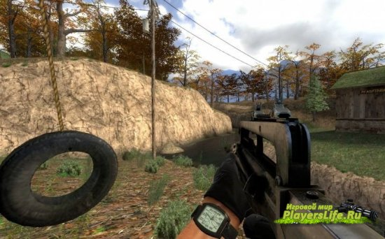 Модель оружия FAMAS из Far Cry 3 для Counter-Strike: Source