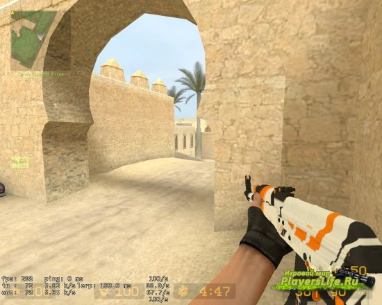 АК-47 АЗИМОВ для Counter-Strike: Source