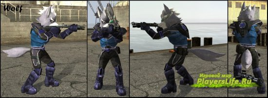 Пак Star Fox для Counter-Strike: Source