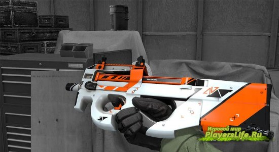 P90 АЗИМОВ для Counter-Strike: Source