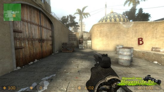 Crysis перчатки для Counter-Strike: Source