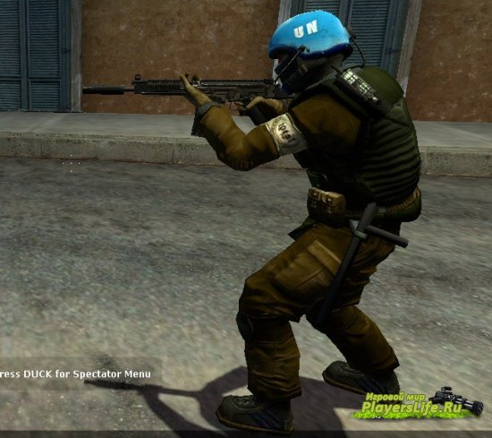 ООН солдат для Counter-Strike: Source