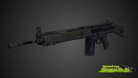 Модель оружия G3SG1 для Counter-Strike: Source