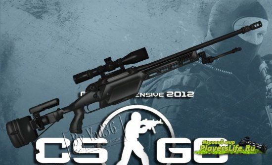 Scout из CS: GO для Counter-Strike: Source