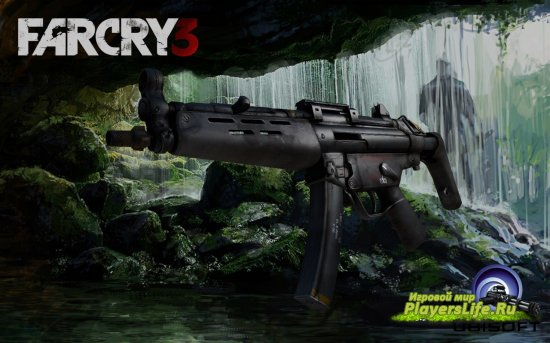Модель оружия MP5 из Far Cry 3 для Counter-Strike: Source