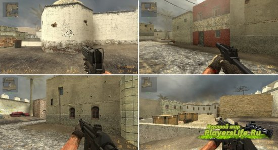 counter-strike source оружие: