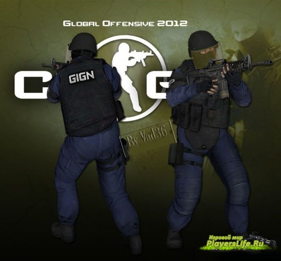 GIGN из Counter-Strike: Global Offensive для Counter-Strike: Source