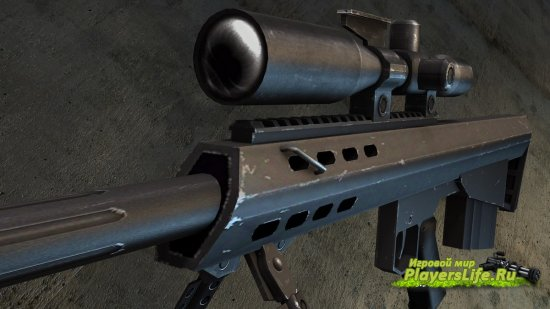 Модель оружия Barrett M95 заменяет Scout для Counter-Strike:Source