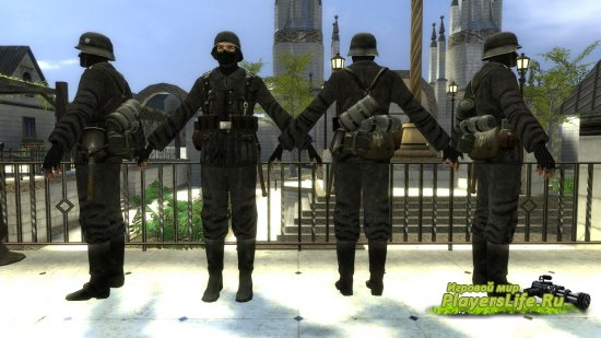 Фашисты для Counter-Strike: Source