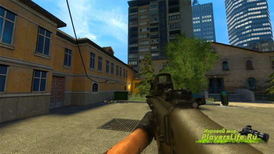 Модель Scar-H для Counter-Strike: Source