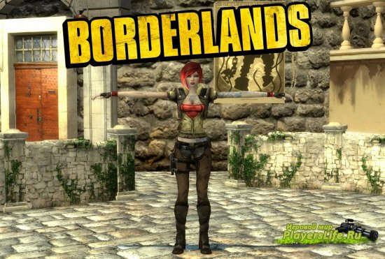 Персонаж Лилит из Borderlands для Counter-Strike: Source