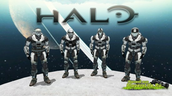 ��� Halo ���������� ��� Counter-Strike: Source