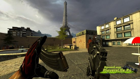 AKS-74U ��� Counter-Strike: Source