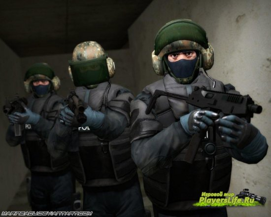 Все модели персонажей из CS:GO для Counter-Strike: Source