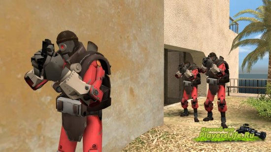 Team Fortress 2 Пак террористов для Counter-Strike: Source