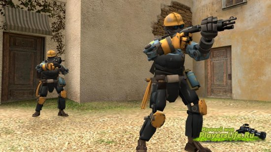 ��� ������� �� Team Fortress 2 ��� Counter-Strike: Source