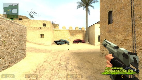Комический Deagle для Counter-Strike: Source