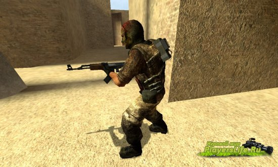 Сердитый террорист для Counter-Strike: Source