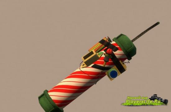 Рождественская карамельная трость для бомбы (Left 4 Dead 2)