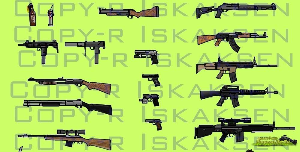 скачать моды на Left 4 Dead на оружие - фото 10