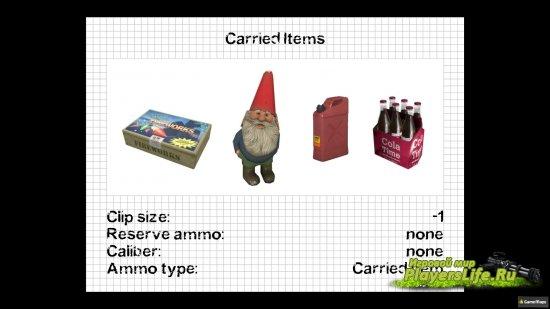 Отдельный слот инвентаря для носимых предметов (Left 4 Dead 2)