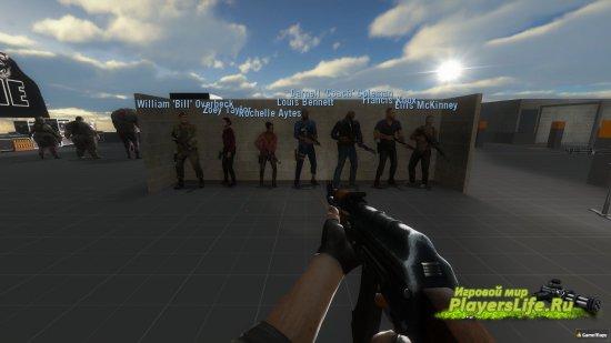 Полные имена для выживших Left 4 Dead 2