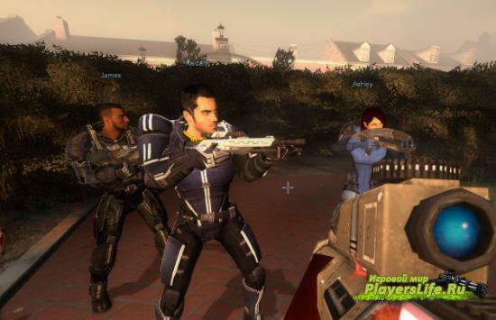 Mass Effect: Пак оружия и скрипты для Left 4 Dead 2