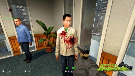 Кровавые текстуры для Counter-Strike: Source