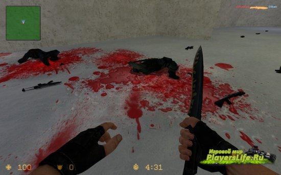Кровь в стиле аниме для Counter-Strike: Source
