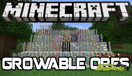 ���������� ���� � Minecraft - GROWABLE ORES MOD