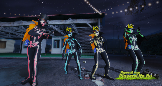 Жуткий скелет для Left 4 Dead 2
