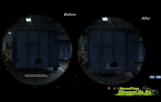 Укороченный зум-прицел для Counter-Strike: Source