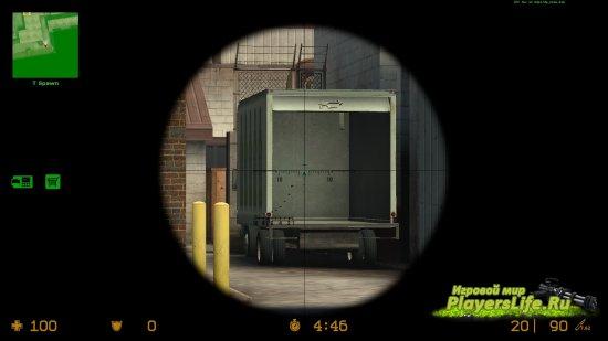 ПСО-1 прицел для Counter-Strike: Source