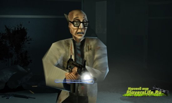 Модель ученого Уолтера для Left 4 Dead 2