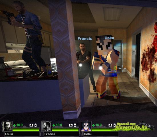 Сон Гоку как в Minecraft для Left 4 Dead 2