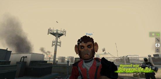 Мартышка Пого из GTA 5 для Left 4 Dead 2