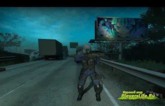 Модель SAS Солдата из CS:GO для Left 4 Dead 2