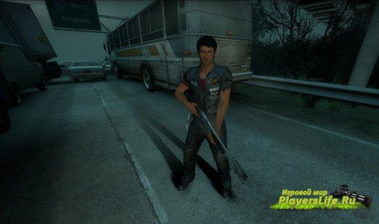 Ник Рамос из Dead Rising 3 для Left 4 Dead 2